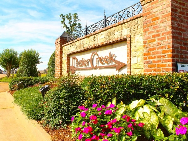 Dozier Creek Subdivision offers Lake D'Arbonne living at a luxury level