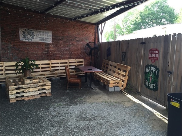The Brass Monkey Pub & Patio has a wonderful patio to enjoy a relaxing afternoon