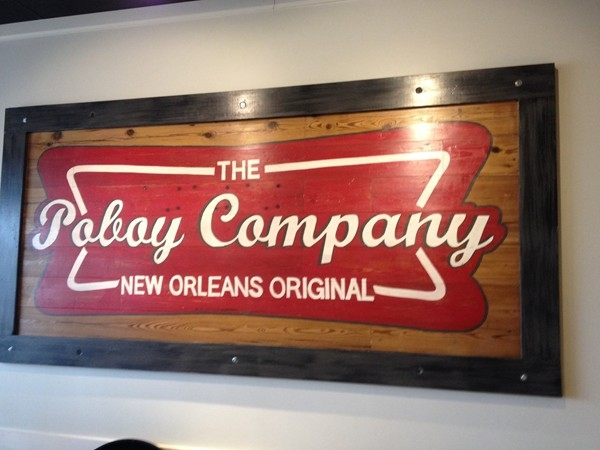 Home of the Poboy version of surf and turf!