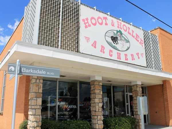 Ready to shoot? Hoot & Holler Archery is in Downtown Bossier's East Bank District