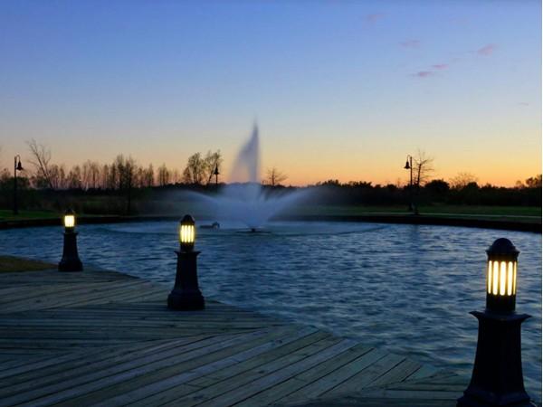 Daybreak at Sugar Mill Pond