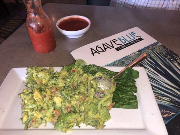 Best table side Guac in Prairieville is at Agave Blue