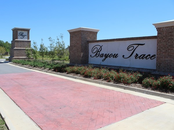 Bayou Trace is a new development in Sterlington