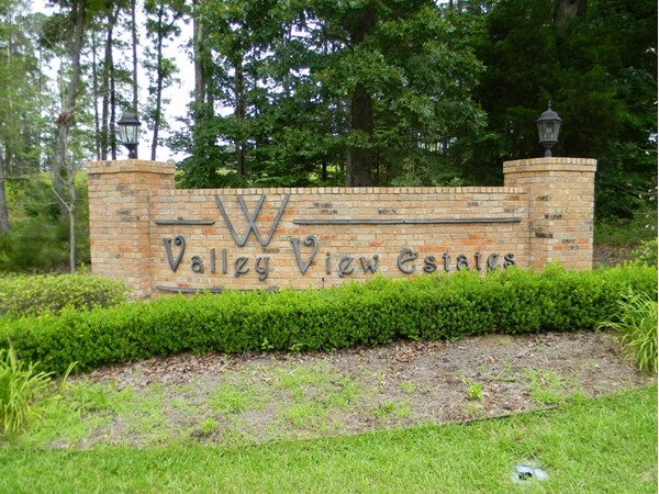 Valley View Estates features cheerful landscaping and beautiful homes