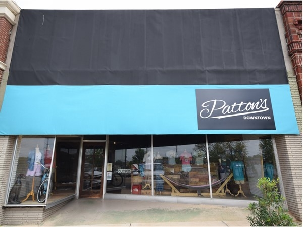 Patton's Downtown provides all the great brands