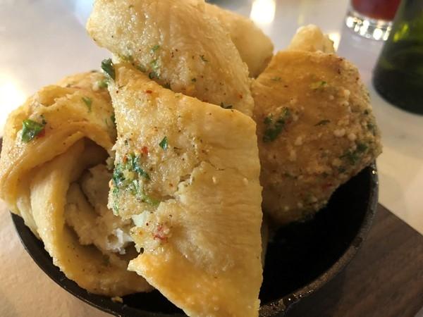 Rocca's Garlic Knots. A delicious way to carbo load