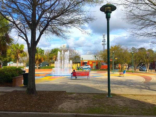 Parc San Souci in Downtown Lafayette