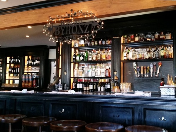 Bistro Byronz makes a great drink in the Capital Heights neighborhood