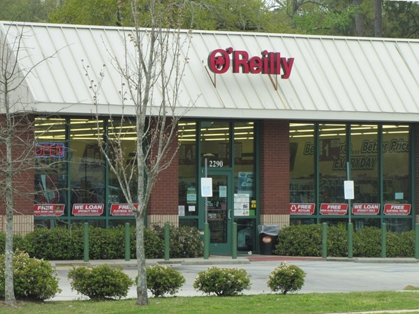 Need a car part? O'Reilly's has it and outstanding customer service