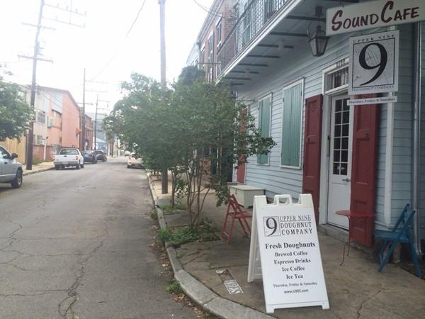 Sound Cafe and Upper 9 Doughnut Company