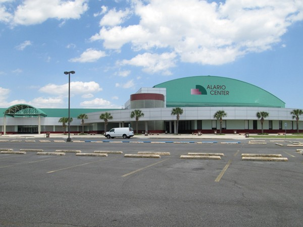 The Alario Center entertainment complex is adjacent to Bayou Segnette State Park, Westwego