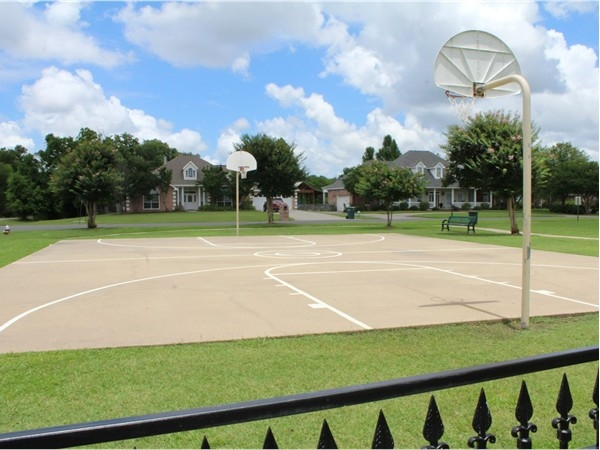 River Oaks offers many amenities including basketball courts at the children's playground