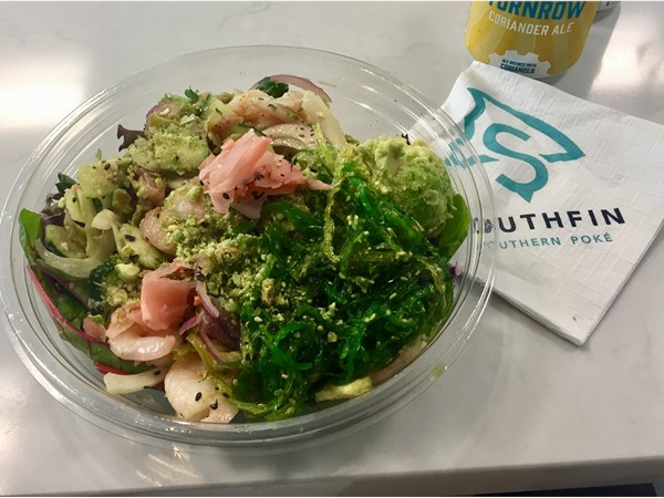 Southfin Southern Poke' is where healthy meets delicious Hawaiian inspired food