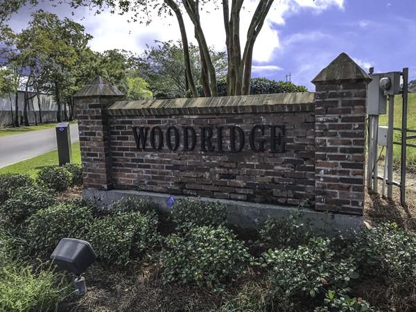 Woodridge Subdivision, Baton Rouge, a wonderful place to live
