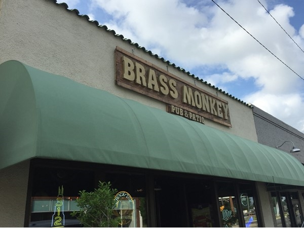 The Brass Monkey Pub & Patio  is located at 521 Desiard Street in Monroe