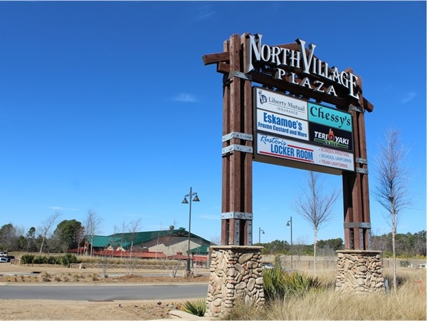 North Village Plaza in Ruston is conveniently located a half mile north off of I-20