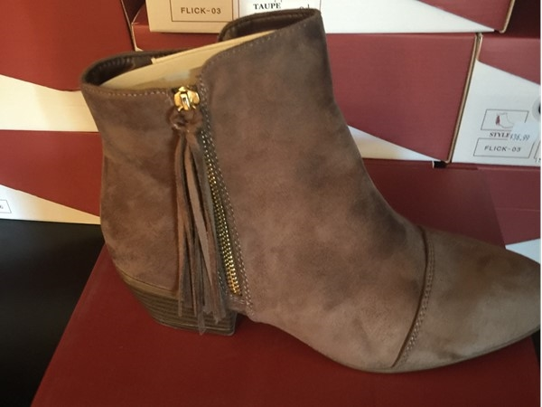 Booties from Girlfriends Gift Shoppe