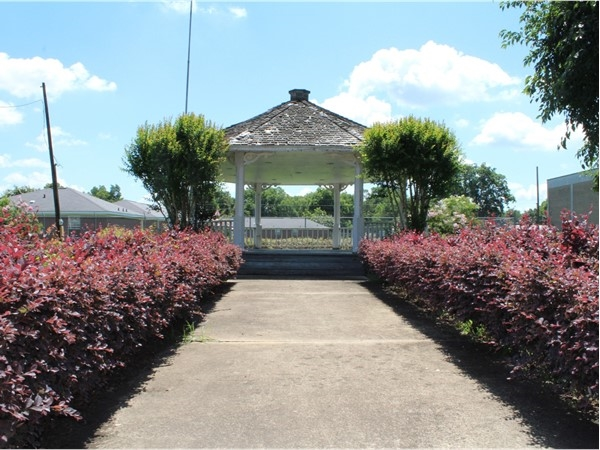 This gorgeous gazebo is part of the ambience found at the Rayville Civic Center