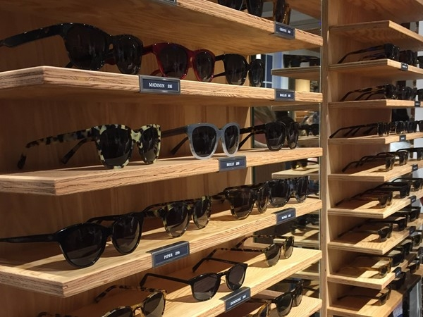 The new Warby Parker store on Magazine Street is fabulous