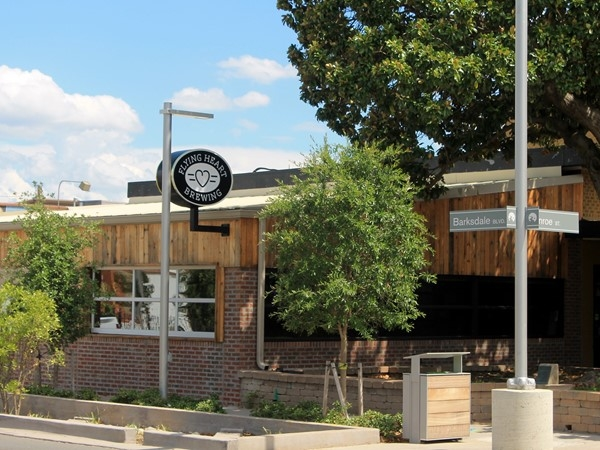 Local brewery Flying Heart is located in East Bank District in Downtown Bossier