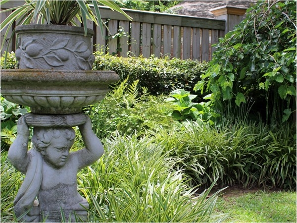 Beautiful landscaping is just one of the many amenities to be found in Point Place