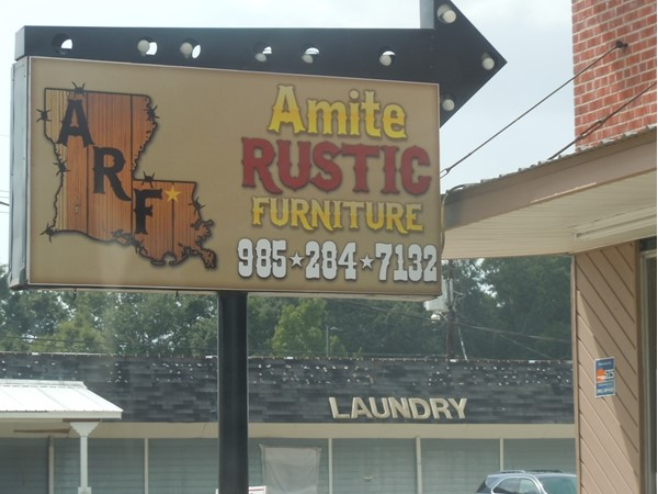 Grand Opening. Check out this brand new furniture store in the heart of Amite
