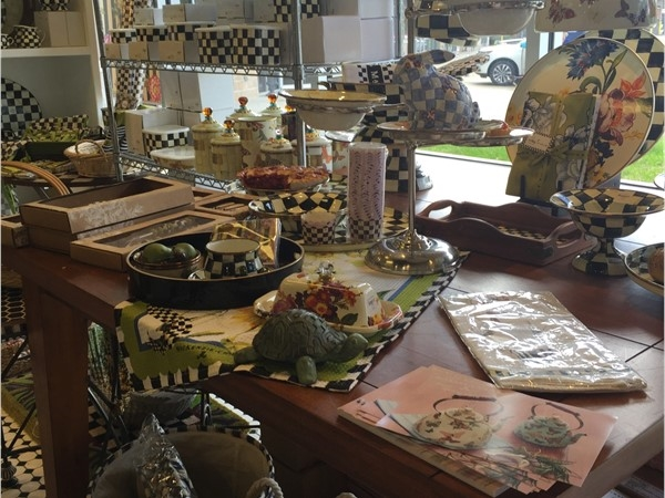 Looking for MacKenzie-Childs, Simplee Gourmet has it!  Located at 70457 S. Tyler St.