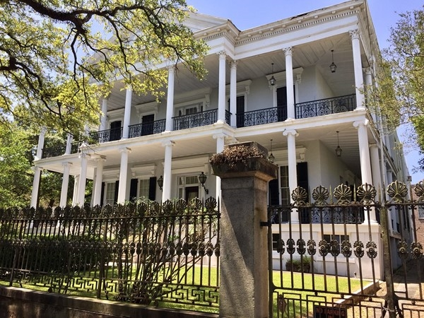 Henry Buckner Mansion is one of New Orleans finest ante-bellum mansions, built in 1856