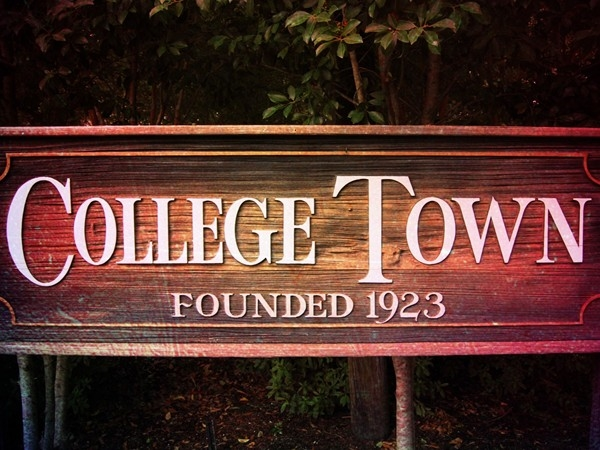 College Town, an outstanding neighborhood very close to the LSU campus
