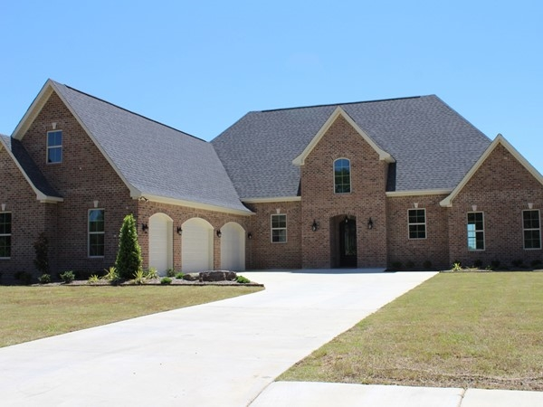 The average price of a home in the new Bayou Trace development is $350,000