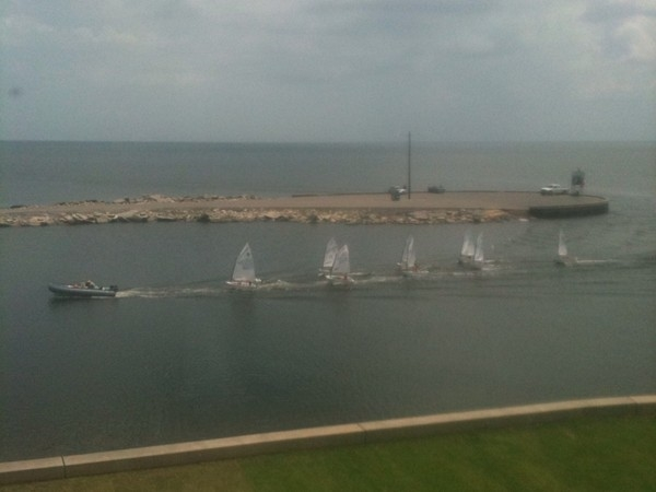 Junior sailing lessons at the Southern Yacht Club