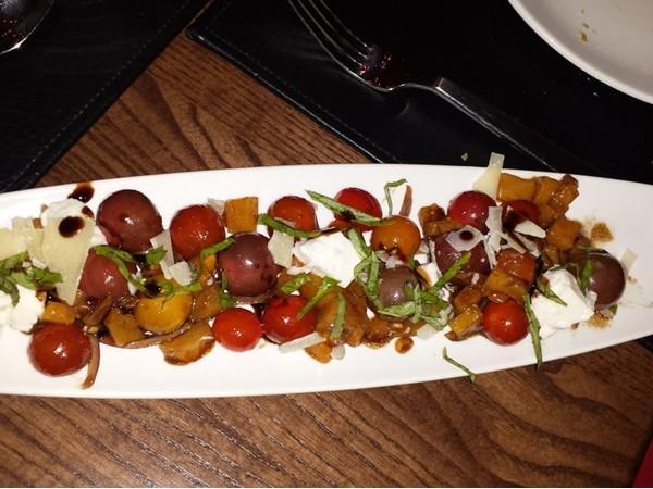 Heirloom Caprese Salad at Stabs