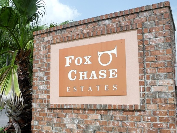 The Chase is over! Fox Chase offers generous lot size and mature trees for shade!