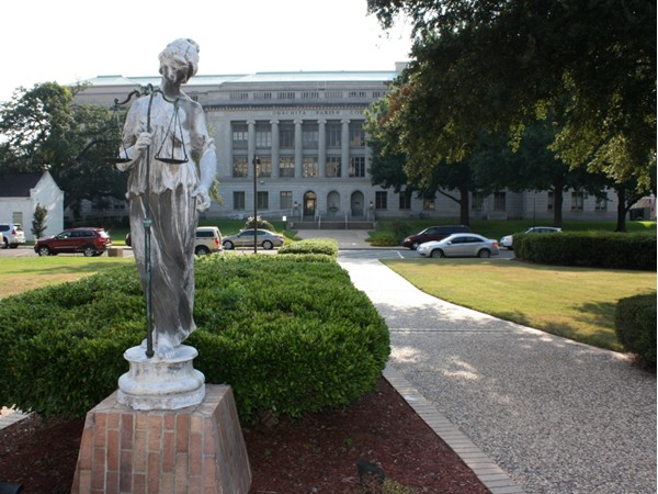 Ouachita Parish Courthouse located in Monroe