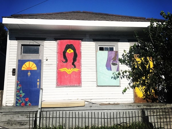 You never know where you're going to find art in New Orleans
