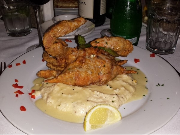 Gallagher 's 527 restaurant has the best soft shell crab around. Must have it