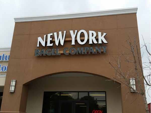 The new New York Bagel on Perkins - third location