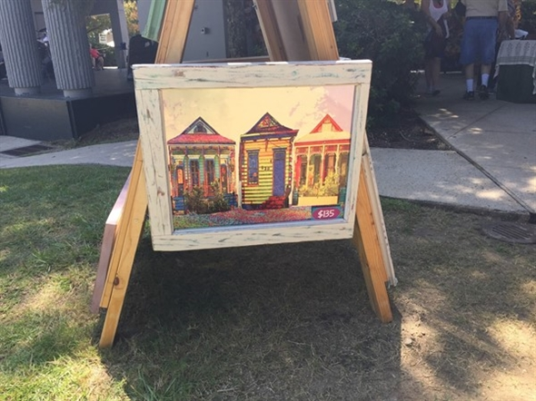 Artists abound at the Trailhead Farmer's Market