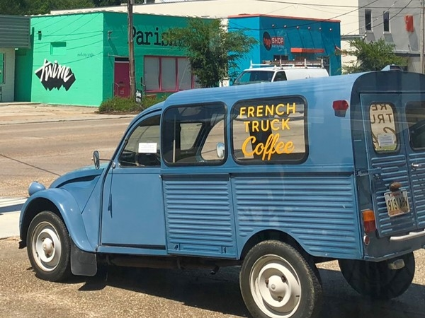 French Truck offers fantastic coffee and great service