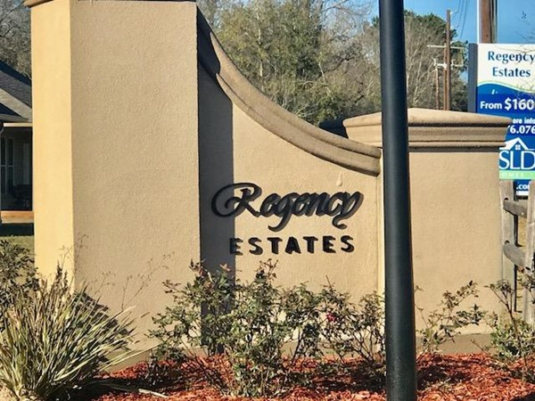 Welcome to Regency Estates