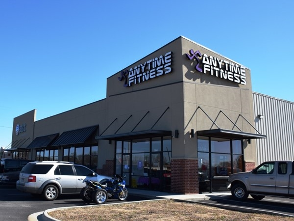 Anytime Fitness, located just off Hwy 67 is a popular new gym in Beebe