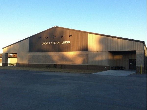 Lavaca High School's new student center
