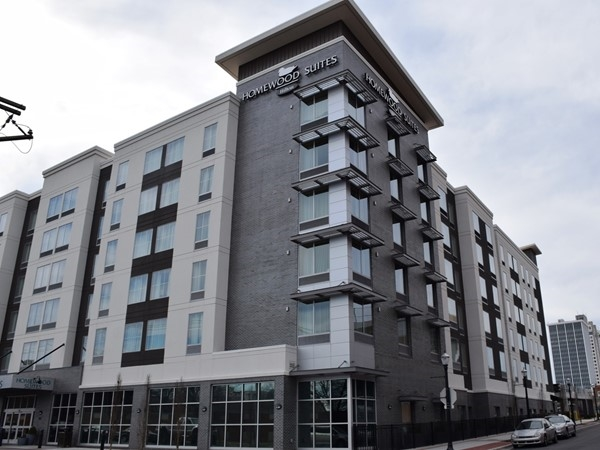 One of the newest hotel developments in downtown Little Rock, Homewood Suites