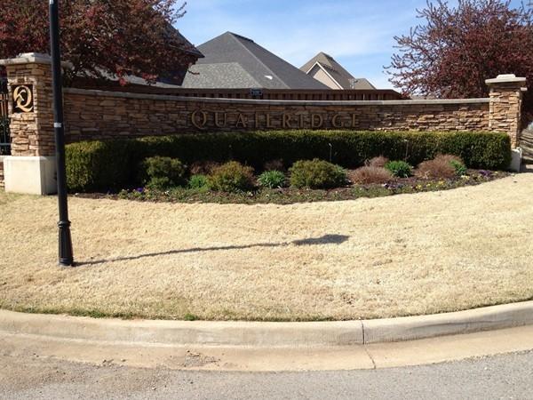 Beautiful subdivision in Centerton