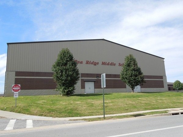 Gymnasium at Pea Ridge Middle School