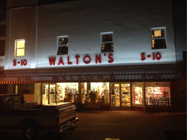 Check out the Walton's Museum, interesting history of Wal-Mart