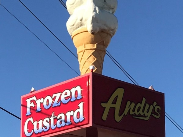 Andy's Frozen Custard. Can't wait until you're opening your doors again