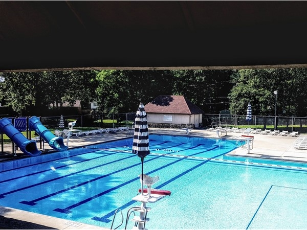 Nice day for a swim at Overbrook pool