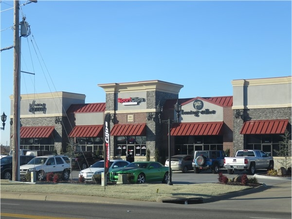One of the newer shopping centers on Parkway in Russellville