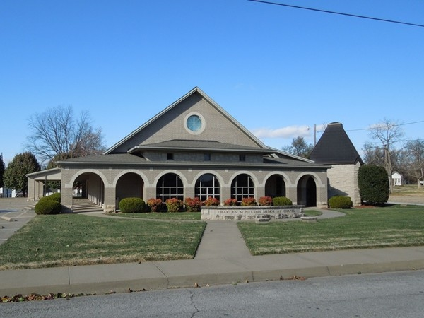 New Chapel at Nelson Funeral Home, Berryville